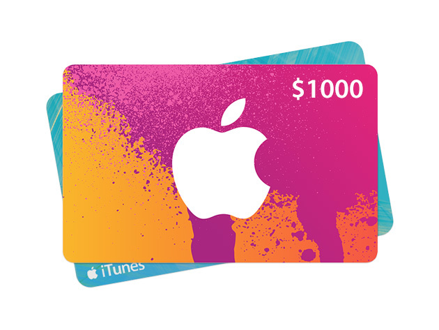 itunes $1000